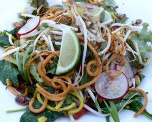 Raw Thai Noodle Salad