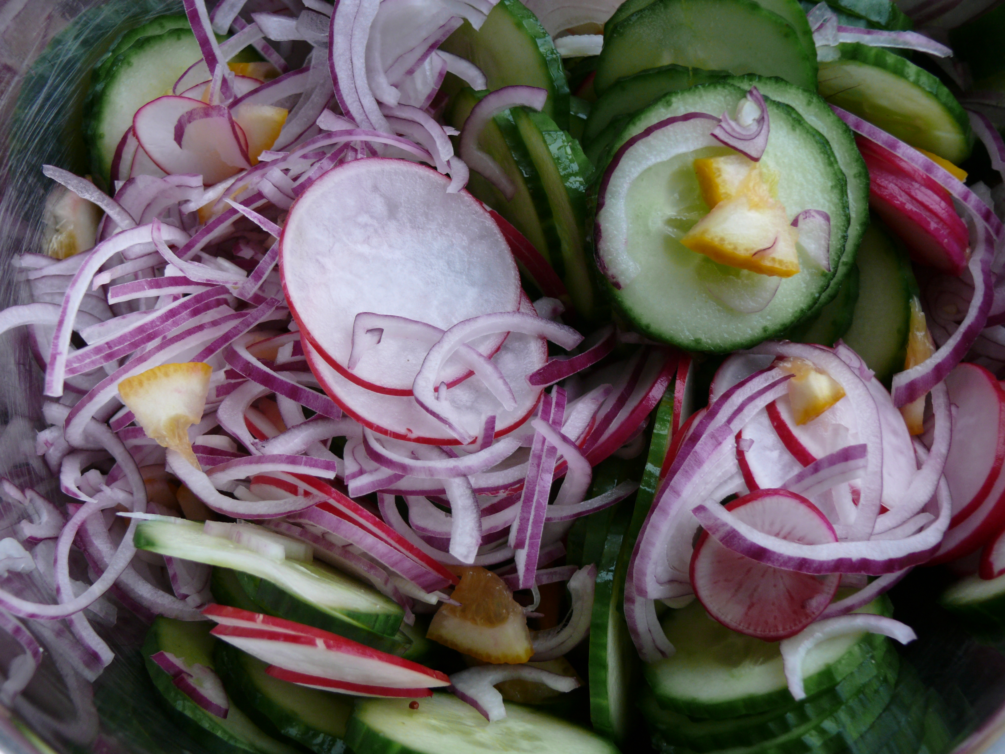 fresh refrigerator pickles