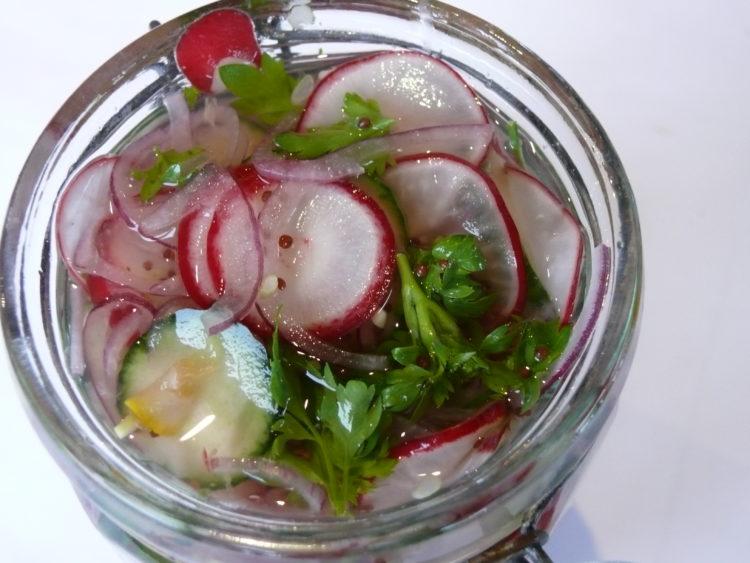 fresh fridge pickles
