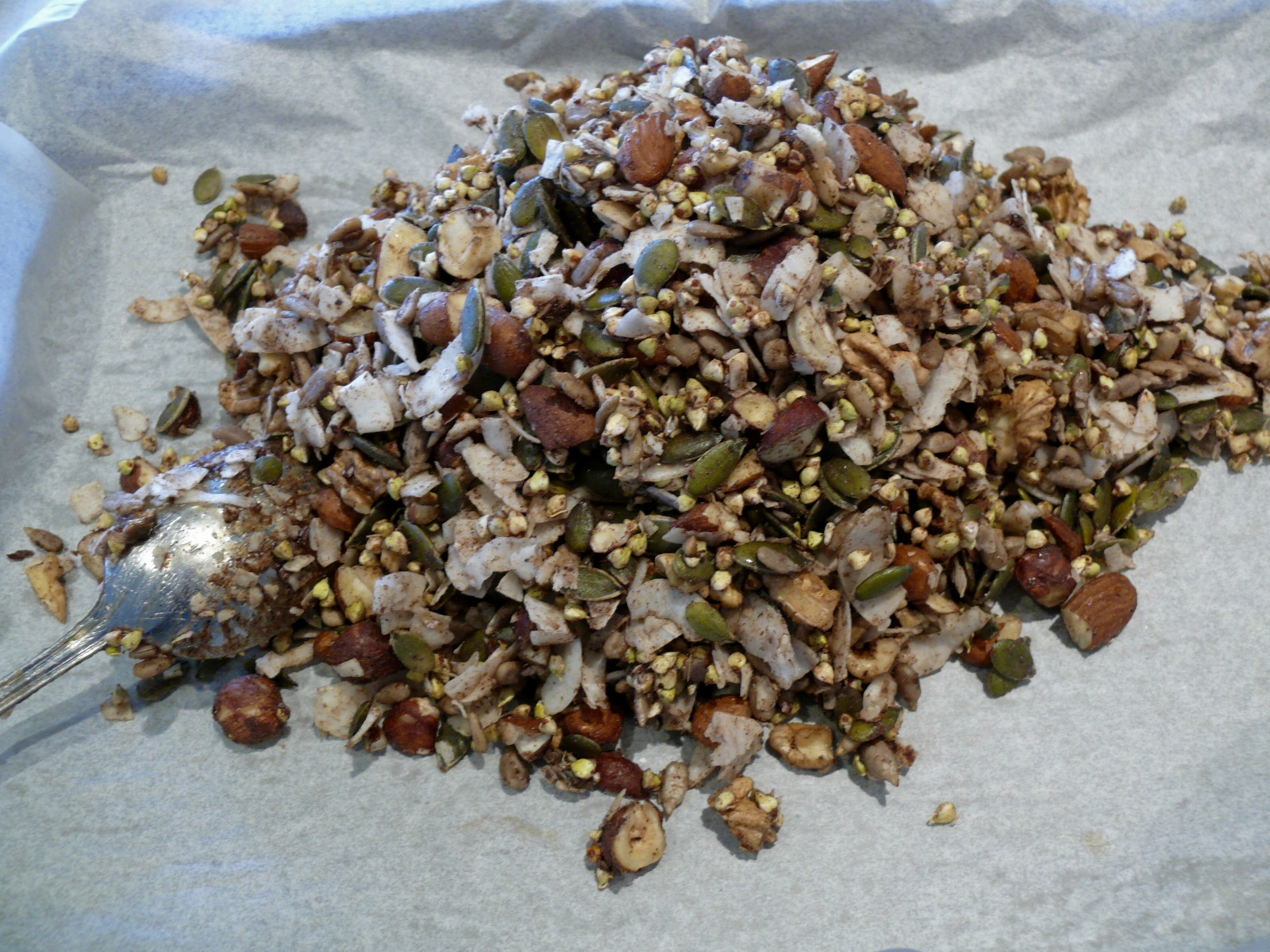 ready to bake seed and nut mix