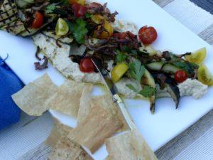 hummus antipasto platter