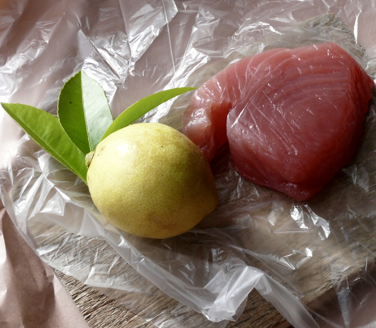 raw fish kokoda