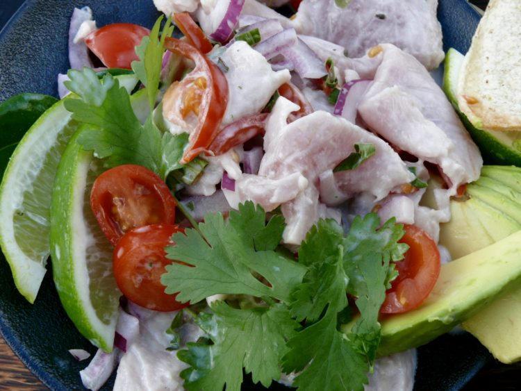 raw fish kokoda