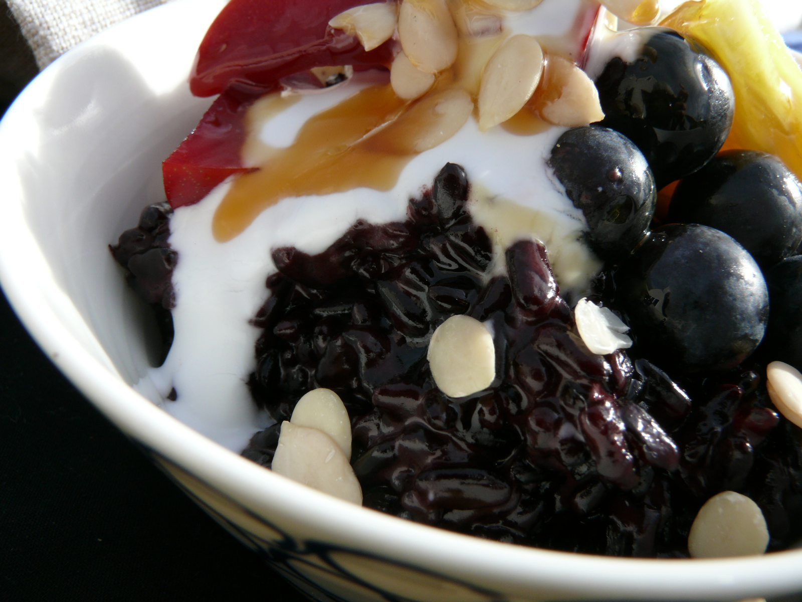 black rice coconut brekfast