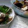 mushroom lentil and kumera bake