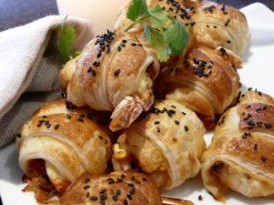 prawn croissant tapas