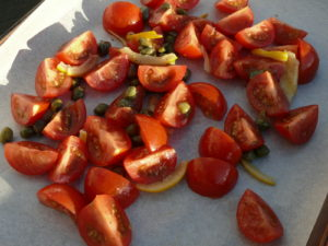 roast fennel and tomatoes