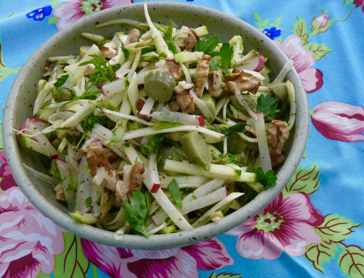 simple celeriac salad