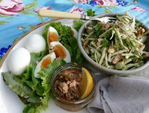 simple celeriac salad