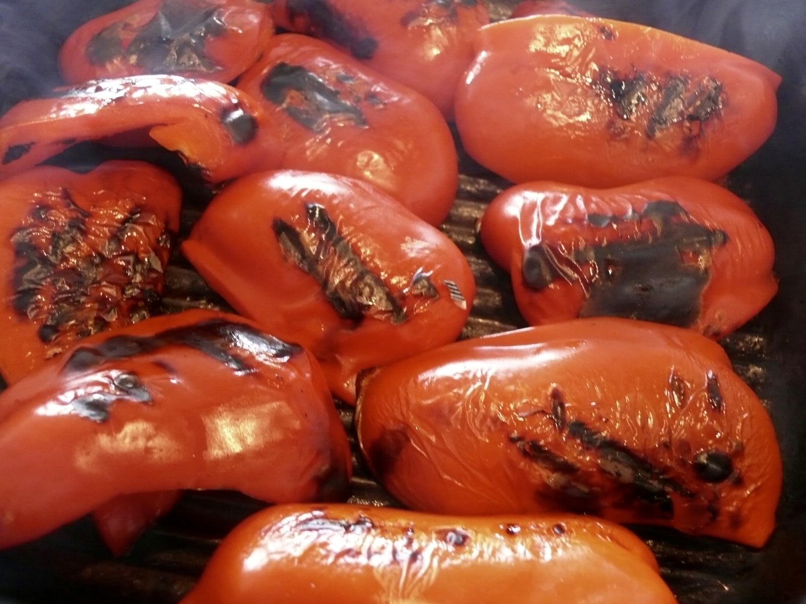 roast peppers for muhammar