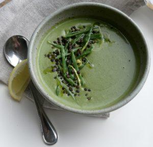 green vegetable soupspring