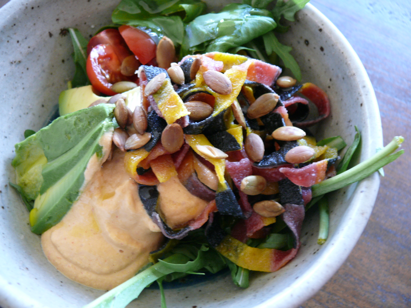 superfood pasta budha bowl