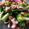 medjool date and char grilled broccoli salad