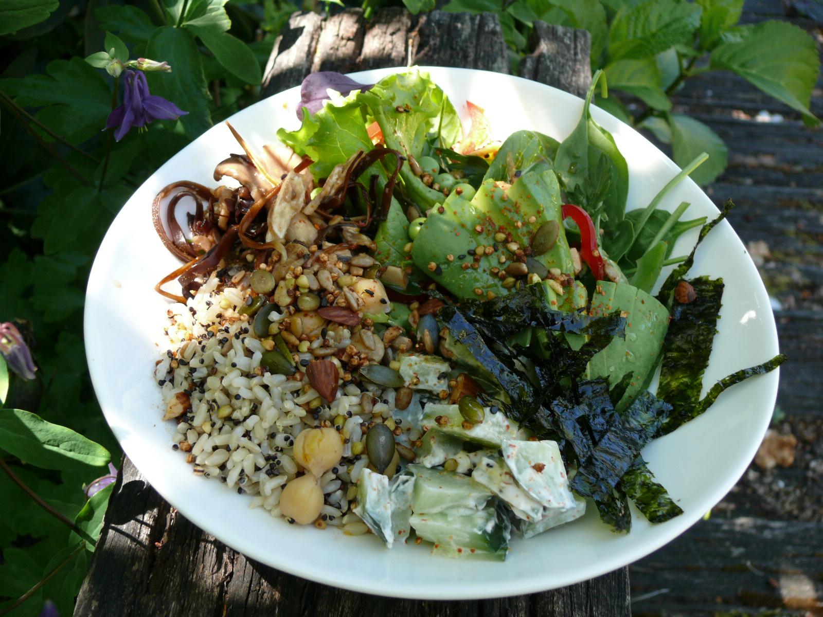 seeded salad