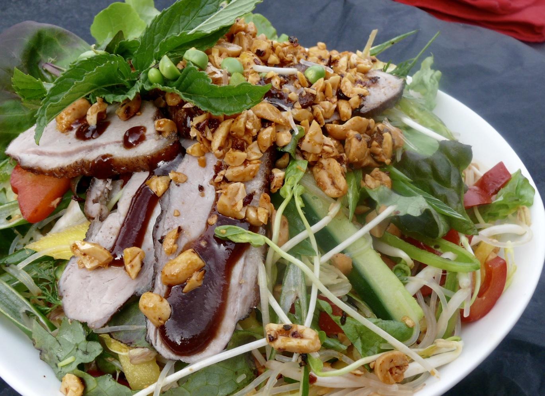 vietnamese duck noodle salad