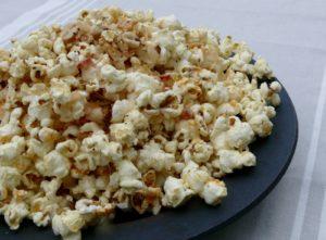 around the world coconut popcorn