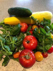 summer vegetable calad