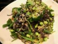 Miso Mustard Dressing and Black Bean Noodle Salad