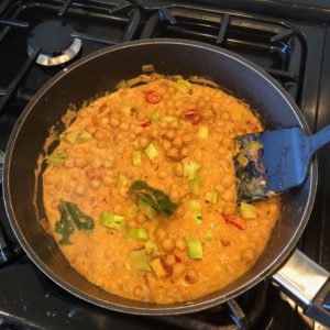 chickpea and broccoli curry