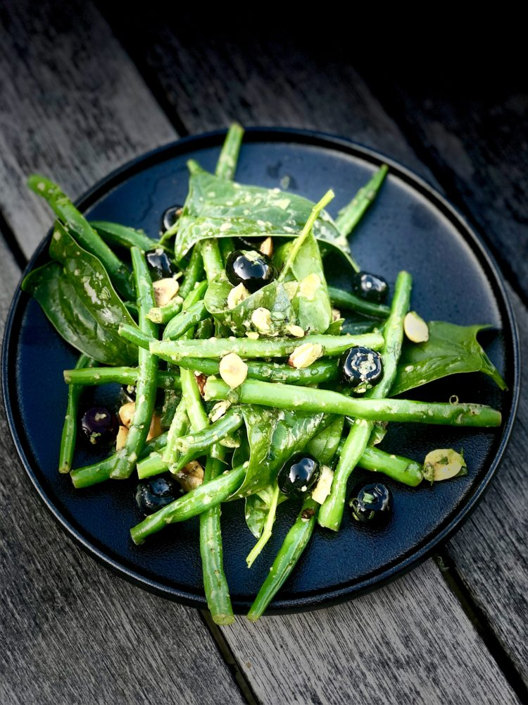simple and sophisticated bean sallad