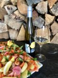 Salmon Gravlax and Te Amo Wines Pinot Gris
