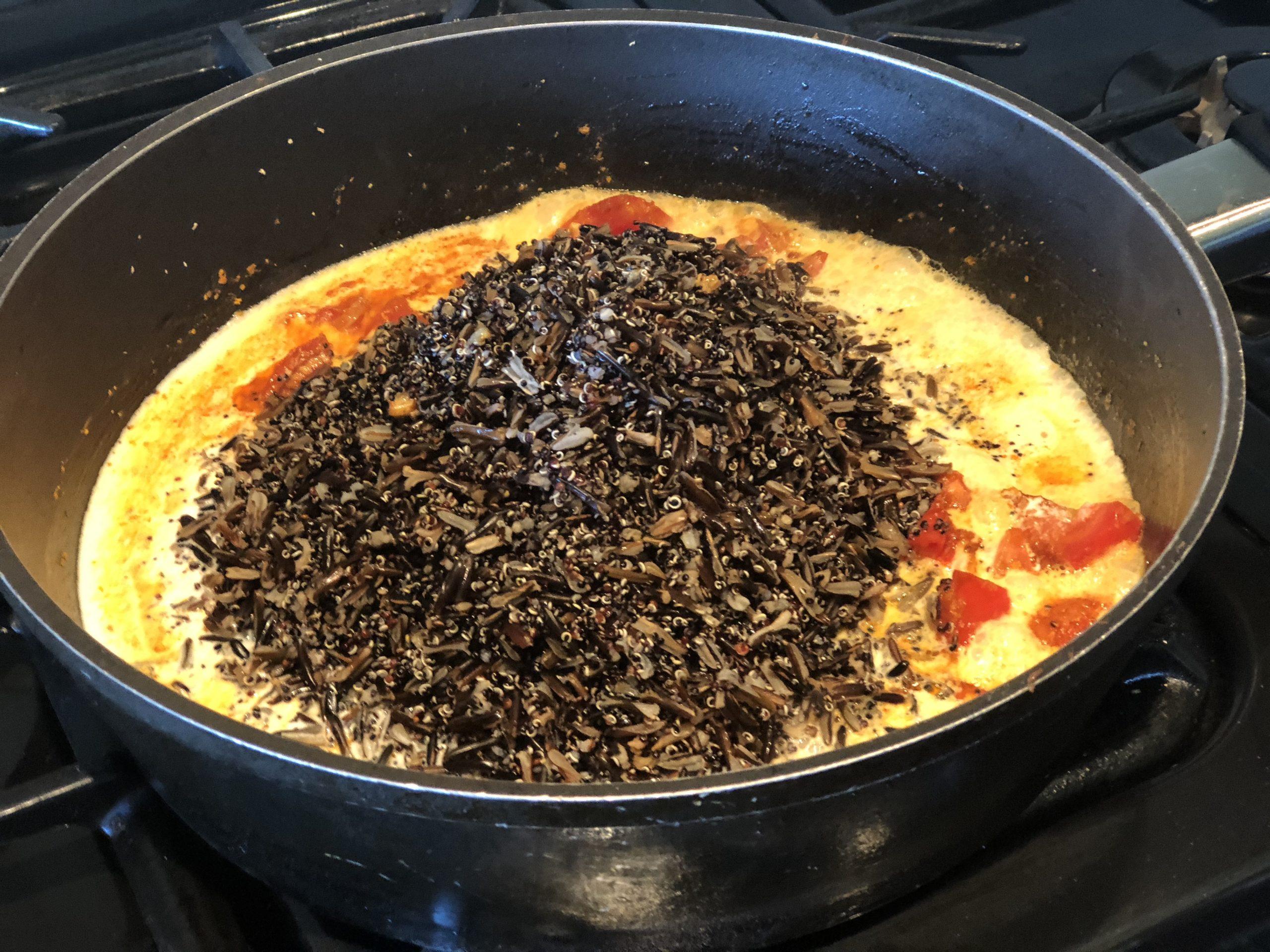 wildrice and quinoa meal prep