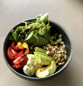 blackrice and quinoa breakfast
