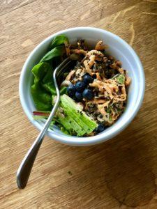 wildrice and quinoa breakfast