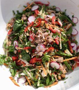 Jackfruit salad