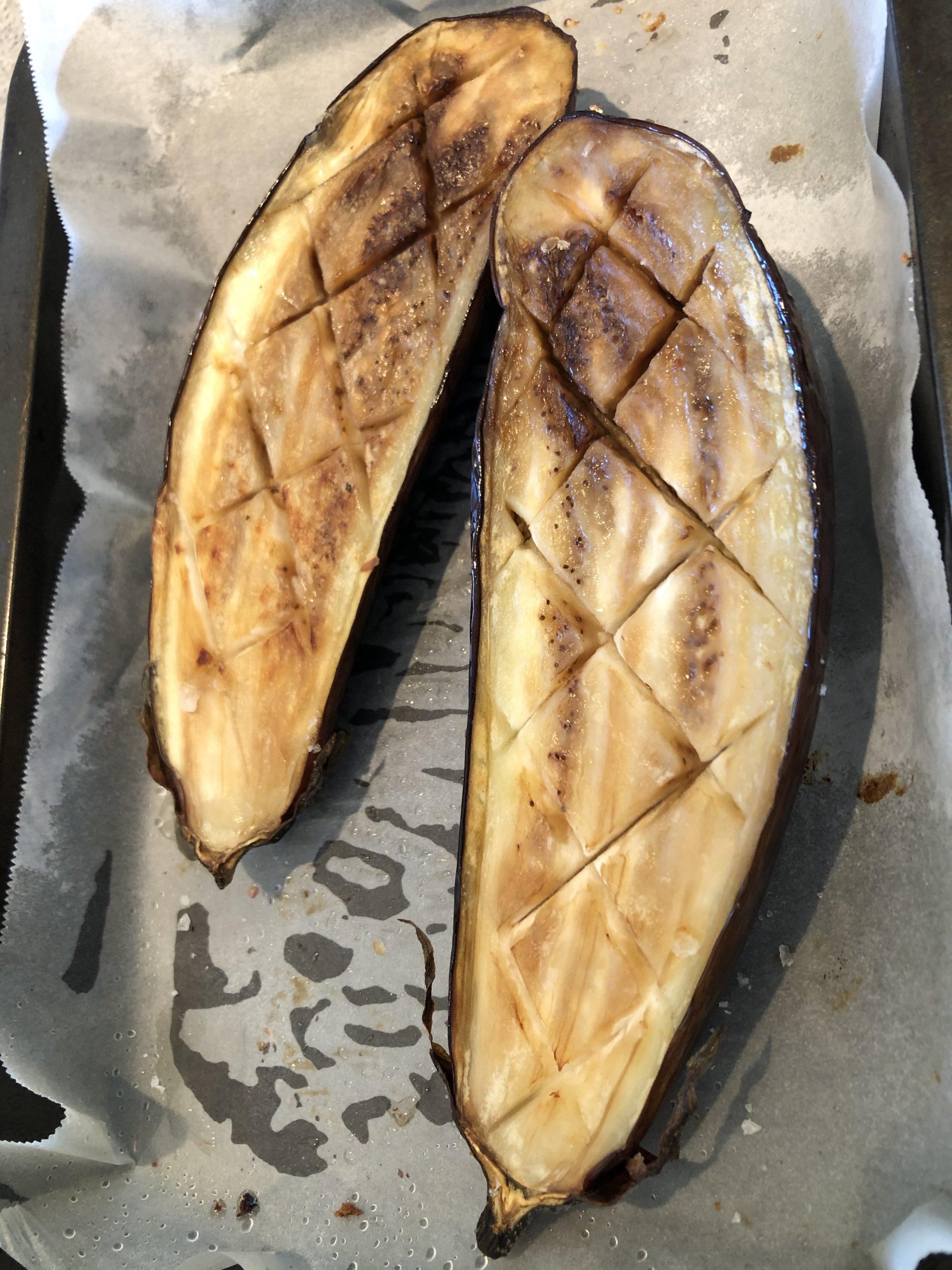 weeknight eggplant parmigiana