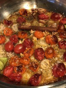 slow cooked mediterranean rice