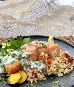 mediterranean slow cooked rice
