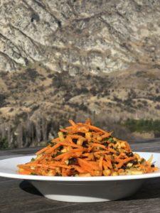 bombay carrot salad