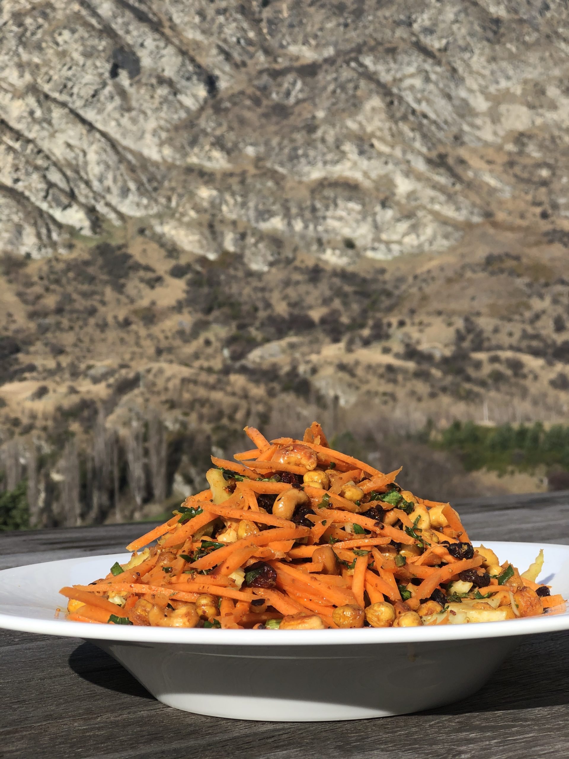 bombay carrot salad